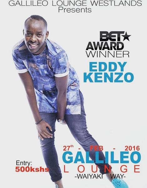 kenya bet award winner eddy kenzo set to perform in kenya