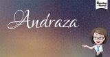 Andraza aka confidence