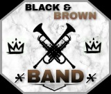 BLACK AND BROWN BAND