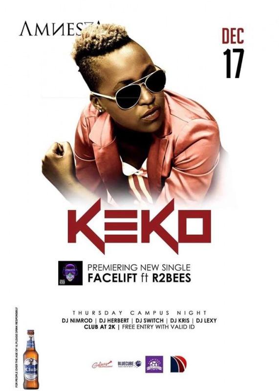 EXCLUSIVE(UGANDA): Keko set to premier latest hit FaceLift