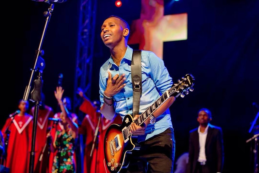 Gospel Singer Israel Mbonyi Steals the Show at Iwacu Muzika Festival - News | Mdundo.com