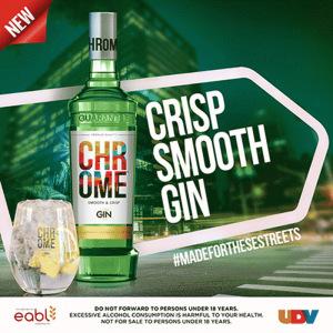Chrome Gin mixes